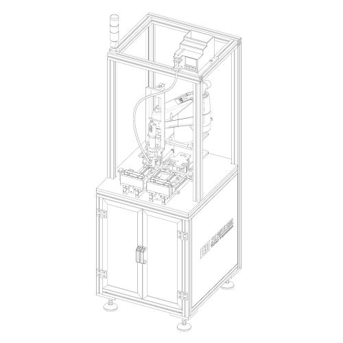 机器人拧螺丝工作站