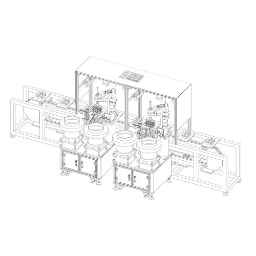 机器人组装生产线