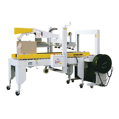 Automatic Cover Folding Sesling And Packaging Machine