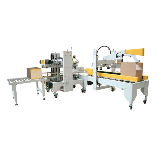 I-Shapedautomatic Cover Folding And Sealing Machine