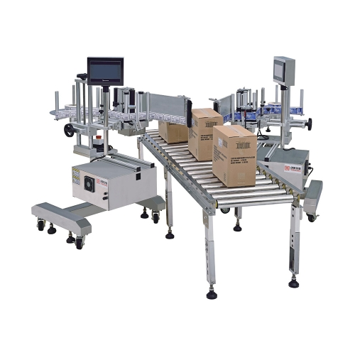 SIngles-Head Lateral Labeling Machine